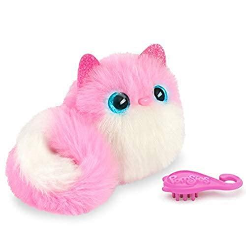 Bandai– Pomsies– Pinky – Rosa-weißes Kätzchen–...