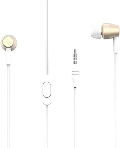 Motorola Pace 200 In-Ear-Kopfhörer, Metall, kabelgebunden Small...