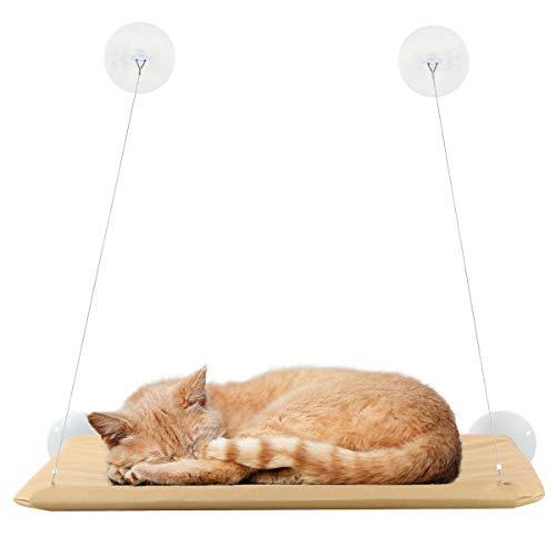 SANON Katzenfenster Hängematte Katzenfenster Sonniger Sitz Katze...