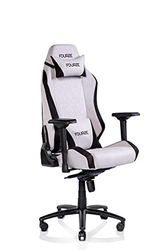 FOURZE Gaming Chair, Grey, One Size