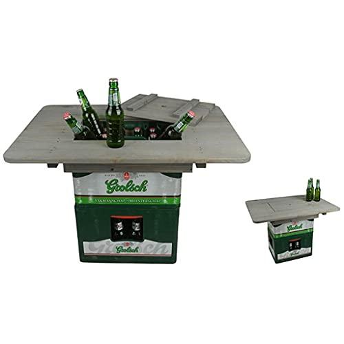 Outdoor-Bistro-Tisch, Patio-Tisch Outdoor-Cocktail-Tisch...