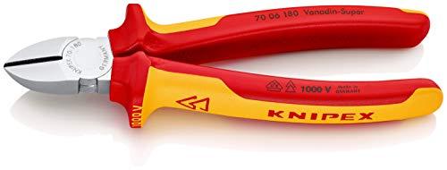 KNIPEX Seitenschneider 1000V-isoliert (180 mm) 70 06 180
