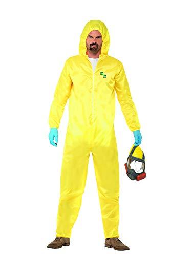 Halloween! Smiffys Kostüm Breaking Bad, Gelb, mit Schutzanzug,...