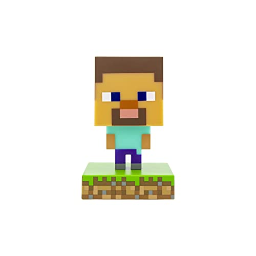 Paladone PP6594MCF Products Minecraft 3D Icon Light Steve Lamps...