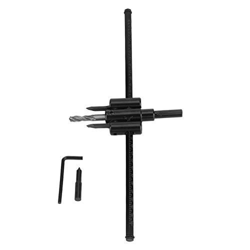 Holzlochsäge-Bohrer, 30-300 mm verstellbarer schwarzer...