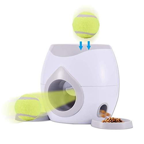 PEPENE Haustier-Tennisballwerfer, automatischer Futterspender...