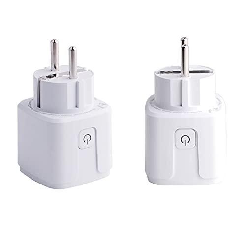 Stemedu 2 Packs Zigbee Smart Plug Compatible with Philips Hue(Hub...