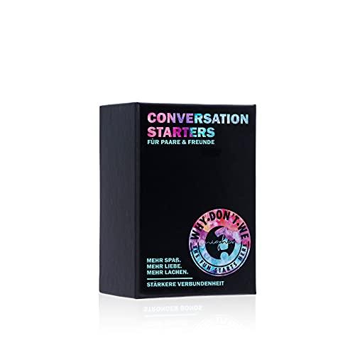WHY DON'T WE Conversation Starters für Paare – 120 Karten mit...