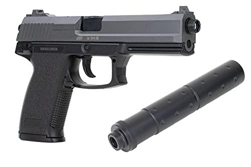 ASG Softair Pistole DL60 Socom HK MK23 inkl. Schalldämpfer