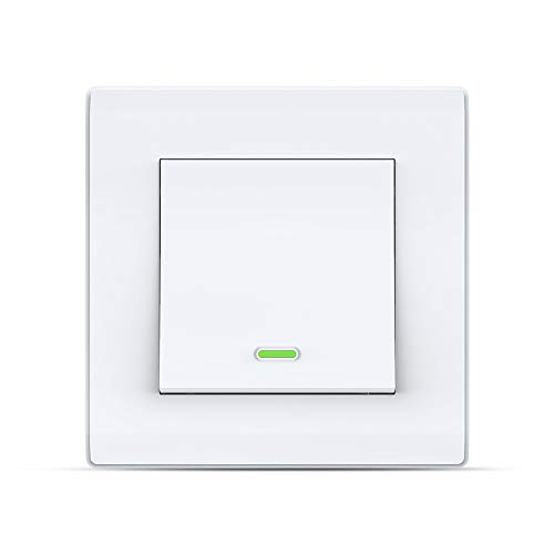 Smart Switch Alexa Smart Lichtschalter, Wi-Fi Smart-Wandschalter...