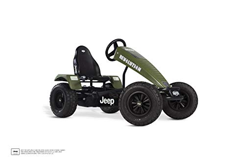 BERG E-Gokart mit XXL-frame Jeep® Revolution mit...