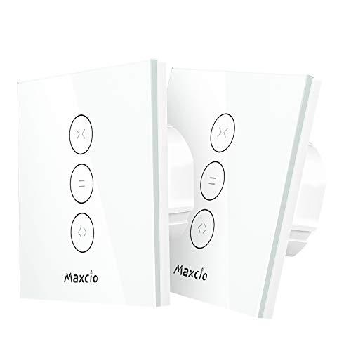 Smart Rolladen Zeitschaltuhren, Maxcio WlanRolladen Vorhang...