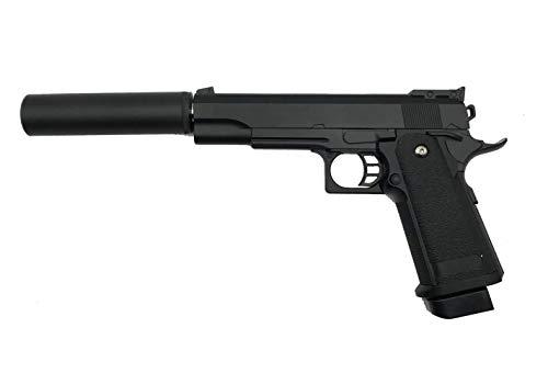 Rayline G6A Voll Metall Softair (Manuell Federdruck) + Schalldämpfer (An-/Abschraubbar),...