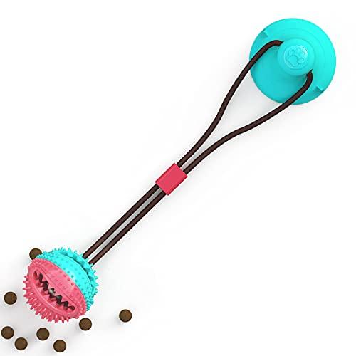 KIFFAY Haustierhundspielzeug Seilball Spielzeug mit Saugnapf für...