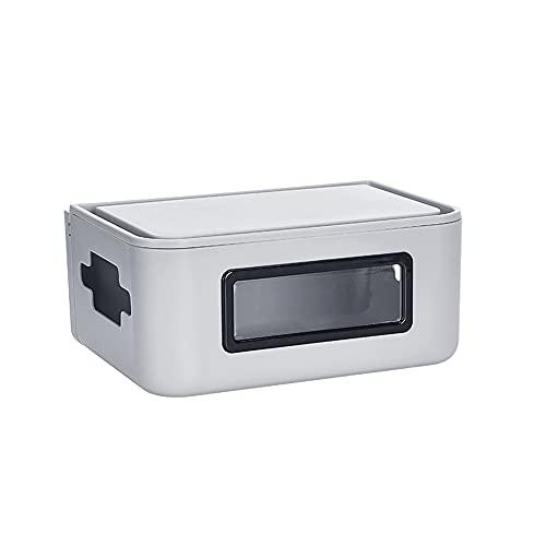 Router Aufbewahrungsbox Desktop Duatproof Steckdosenleisten WiFi...