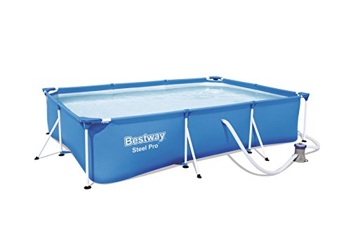 Bestway Frame Pool Deluxe Splash - Steel Pro, Set mit...