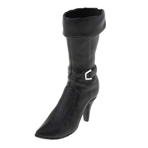 1/6 Skala Weibliche Soldat High Heel Schuhe Stiefel für 12 Zoll...