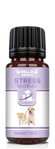 Hello Animal Anti Stress Globuli – pflanzliches Baldrian...