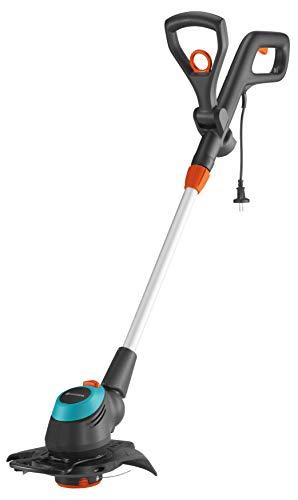 GARDENA Elektro-Trimmer EasyCut 450/25: Rasentrimmer mit verstellbarem Griff abwinkelbarem...