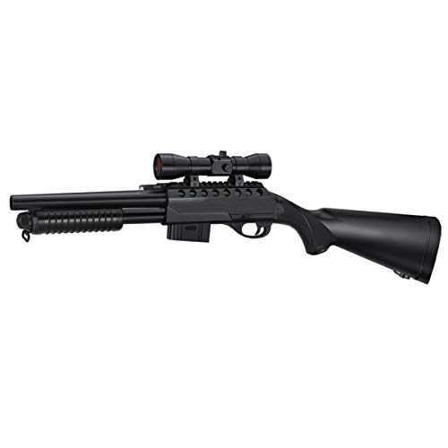 Rayline Softair Gewehr Pumpgun RM47A1 ABS 1:1 78cm 1640g 6mm, 0,5...