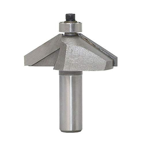 Jerilla 1/2 Zoll-Schaft 60 Grad Fasenfräser Bits Hartmetall...