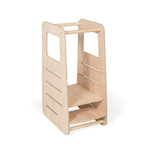 Universell Lernturm Kinder | Küchenturm Kinder modernes Design...