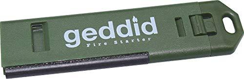 Feuerstarter Schlüsselanhänger mit 120db Notsignalpfeife,...
