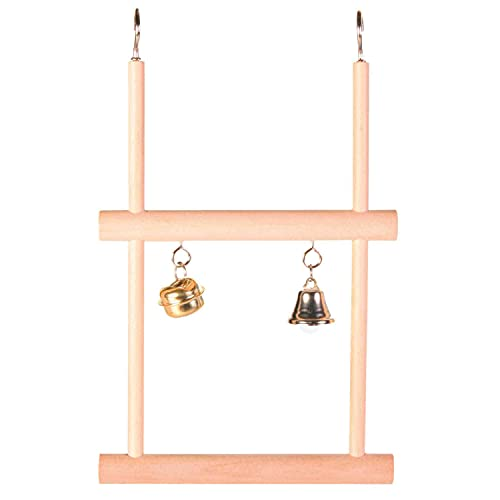 Trixie 5822 Trapezschaukel, doppelt, Holz, 12 × 20 cm