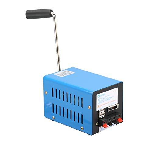 WUSHUN Handkurbel Generator Kleine Tragbare Stromversorgung...