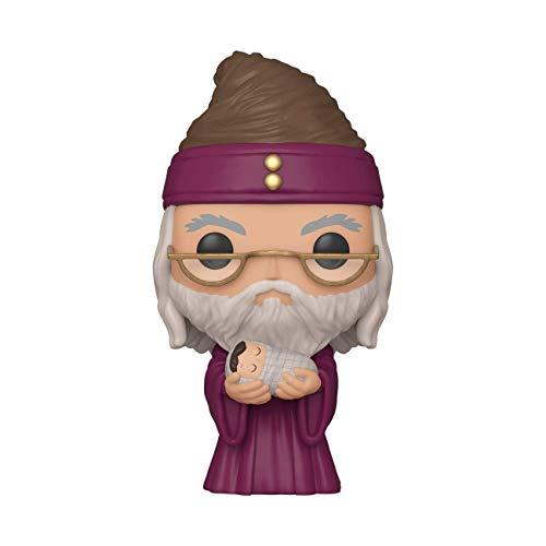 Funko 48067 POP Potter-Dumbledore w/Baby Harry Sammelbares...