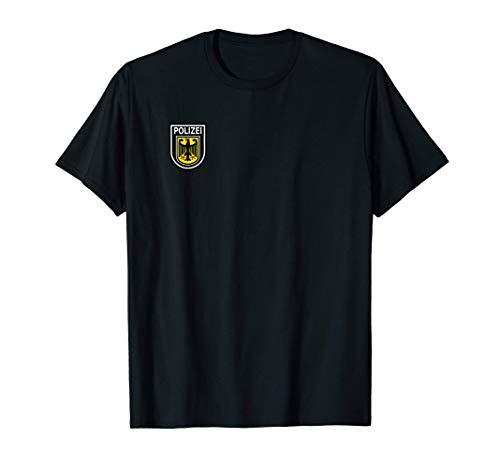 Polizei T-Shirt - Polizeiuniform als Verkleidung oder Dienst...