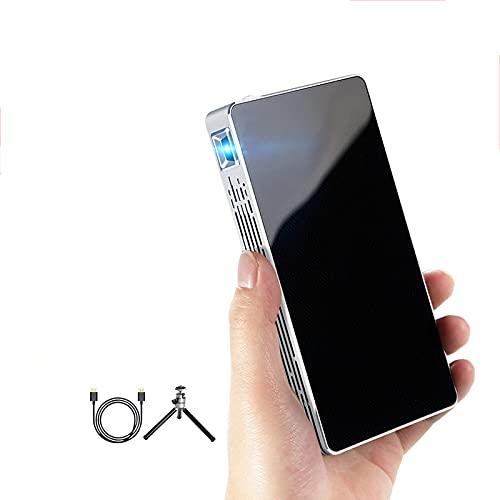 YQG Beamer Smart WiFi Mini Pocket Tragbare Projektoren TV LED DLP...