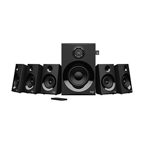 Logitech Z607 5.1 Surround Sound Lautsprecher (Bluetooth, CINCH,...