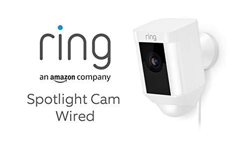 Ring Spotlight Cam Wired von Amazon   HD Sicherheitskamera mit...