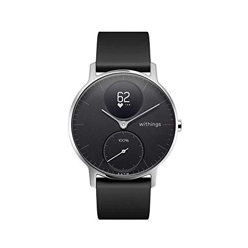Withings Steel HR - Hybride Smartwatch - stappenteller met verbonden GPS, hartslagsensor,...