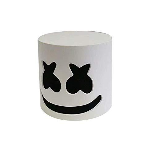 ATpart Marshmallow DJ Maske Musik Festival DIY Voller Kopf Helm...