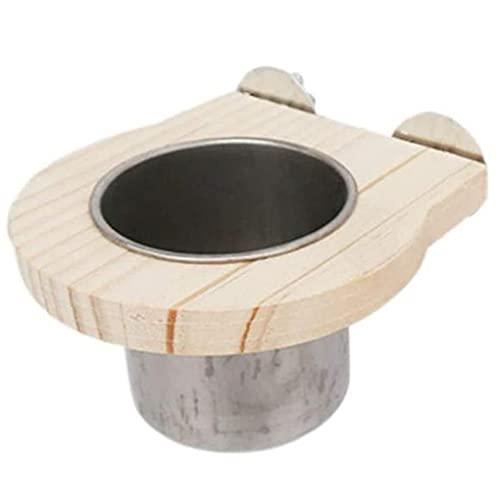 Sanfiyya Vogel Futternapf Parrot Dish Cups Käfig hängende...