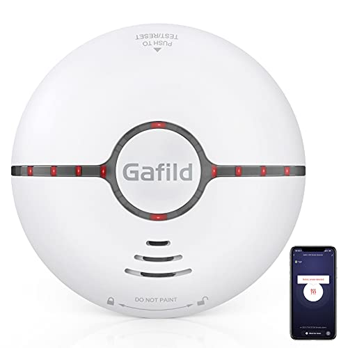 Gafild Rauchmelder WLAN, Funk WiFi rauchmelder Smarter...
