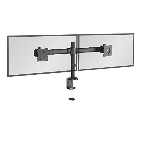 RICOO Monitor-Halterung 2 Monitore Schwenkbar Neigbar (TS6211)...
