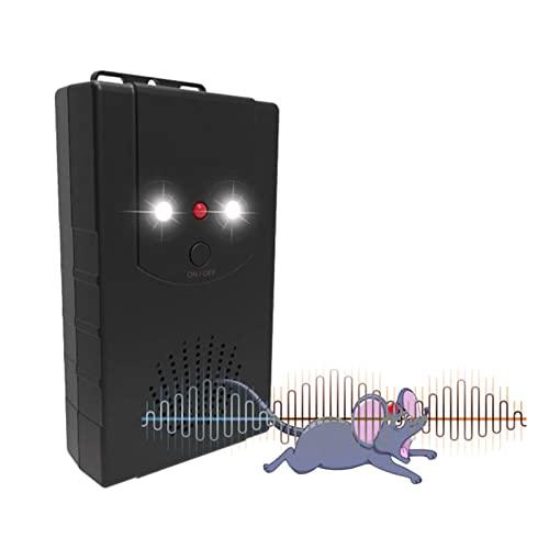 Mäuseabwehr 4er Set Ultraschall Ratten- und Mäusevertreiber...