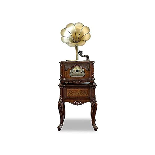 ZSMLB Music Box Home Retro Phonograph Moderner...