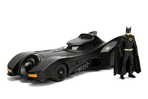 Jada Toys Batmobil 1989, hochdetailiertes 1:24 Modellauto inkl....