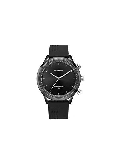 Roneberg RNX05 Hybrid Smartwatch kombiniert klassisches Design...