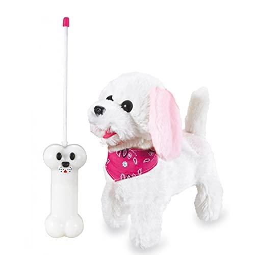 JAMARA 460341 - Laufender Hund mit Sound Plüsch, Fernsteuerung,...