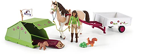 SCHLEICH 42533 Spielset - Horse Club Sarahs Campingausflug (Horse...