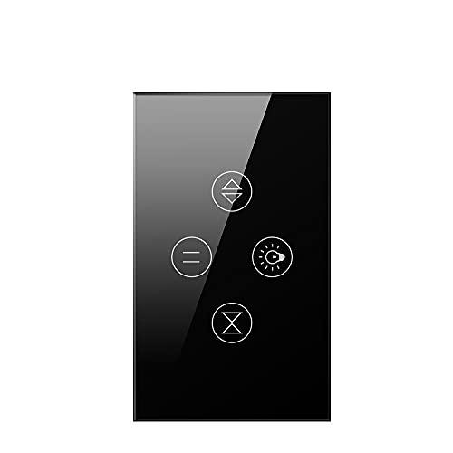 LITOSM Rolladenschalter WiFi Rolltor Vorhang Lichtschalter für...