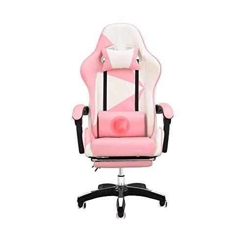 N&O Renovation House Chair Drehstuhl Gaming-Stuhl mit Fußstütze...