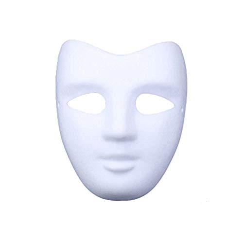 Meimask DIY Weiße Maske Zellstoff Blank Handgemalte Maske...