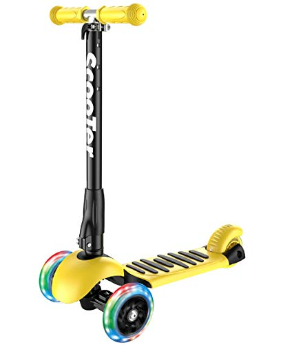Banne 3 Wheel Scooter Höhe einstellbar faltbar Montieren Sie...