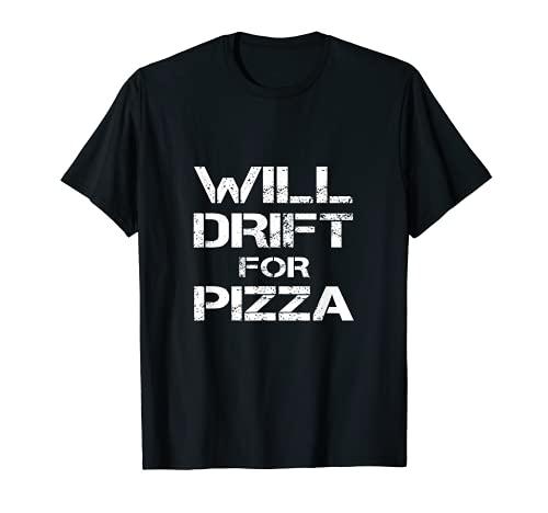 Will Drift For Pizza Funny RC Car Drifting Driver Trike Kart...
